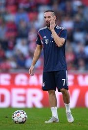 Franck Ribery, del Bayern Munich.