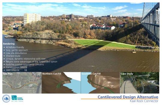 Kaal Rock cantilevered design proposal