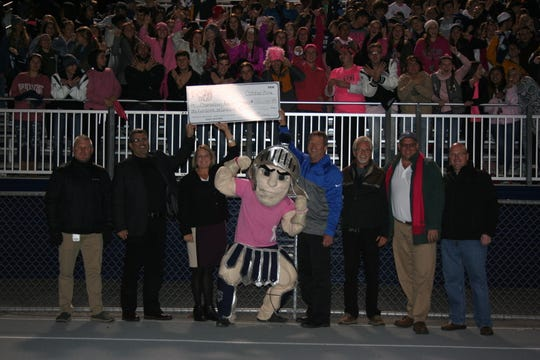 F&M Trust gave $100,000 to CASD, but did not take the naming rights to Trojan Stadium.