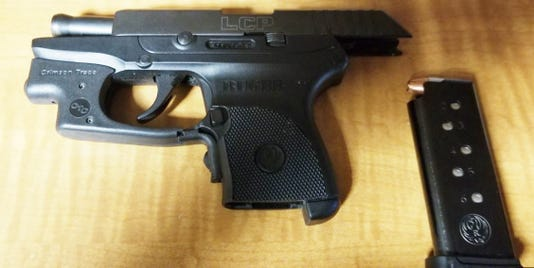 Handgun found in carry-on bag at HIA