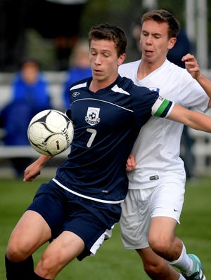 West York's Jake Altimore is the York-Adams Division II Boys' Soccer Player of the Year. DISPATCH FILE PHOTO