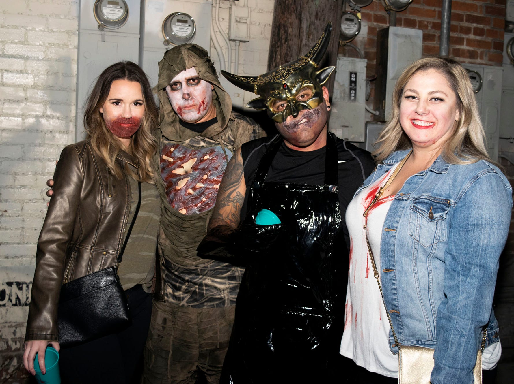 Reno's undead walked the streets for the Zombie Crawl on Saturday, Oct. 20, 2018. Reno, Nev.