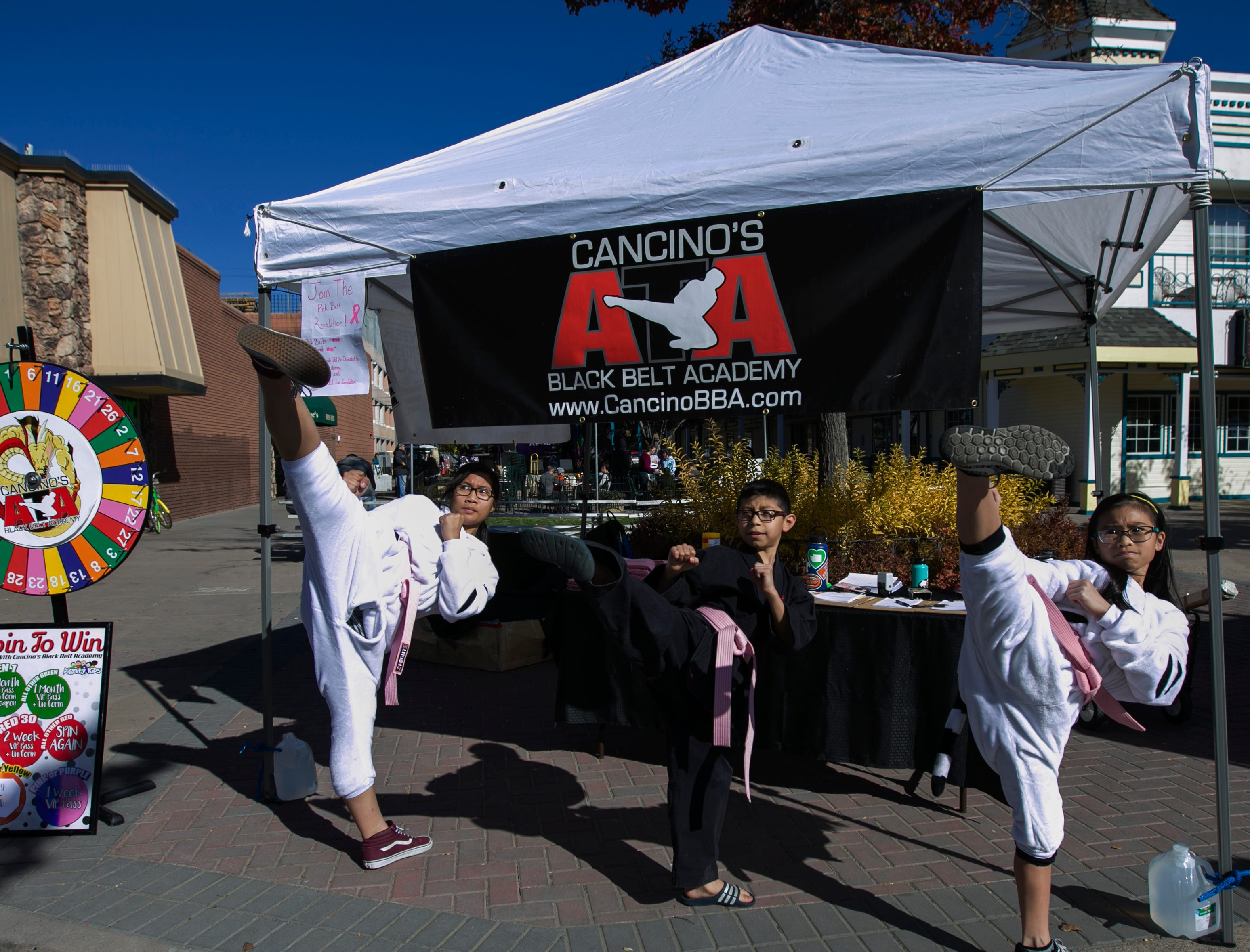 Cancinos Black Belt Academy during Pumpkin Palooza on Sunday Oct. 21, 2018 in Sparks, Nevada.