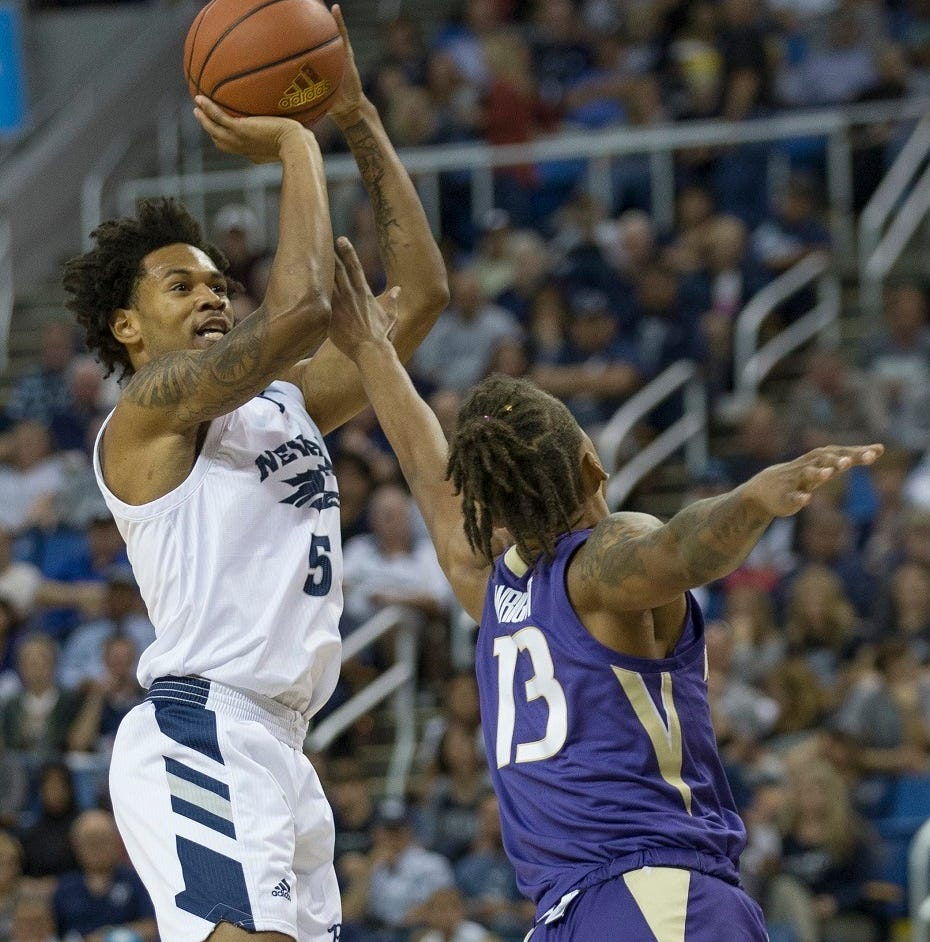 Nevada's Nisre Zouzoua will return to play for Wolf Pack