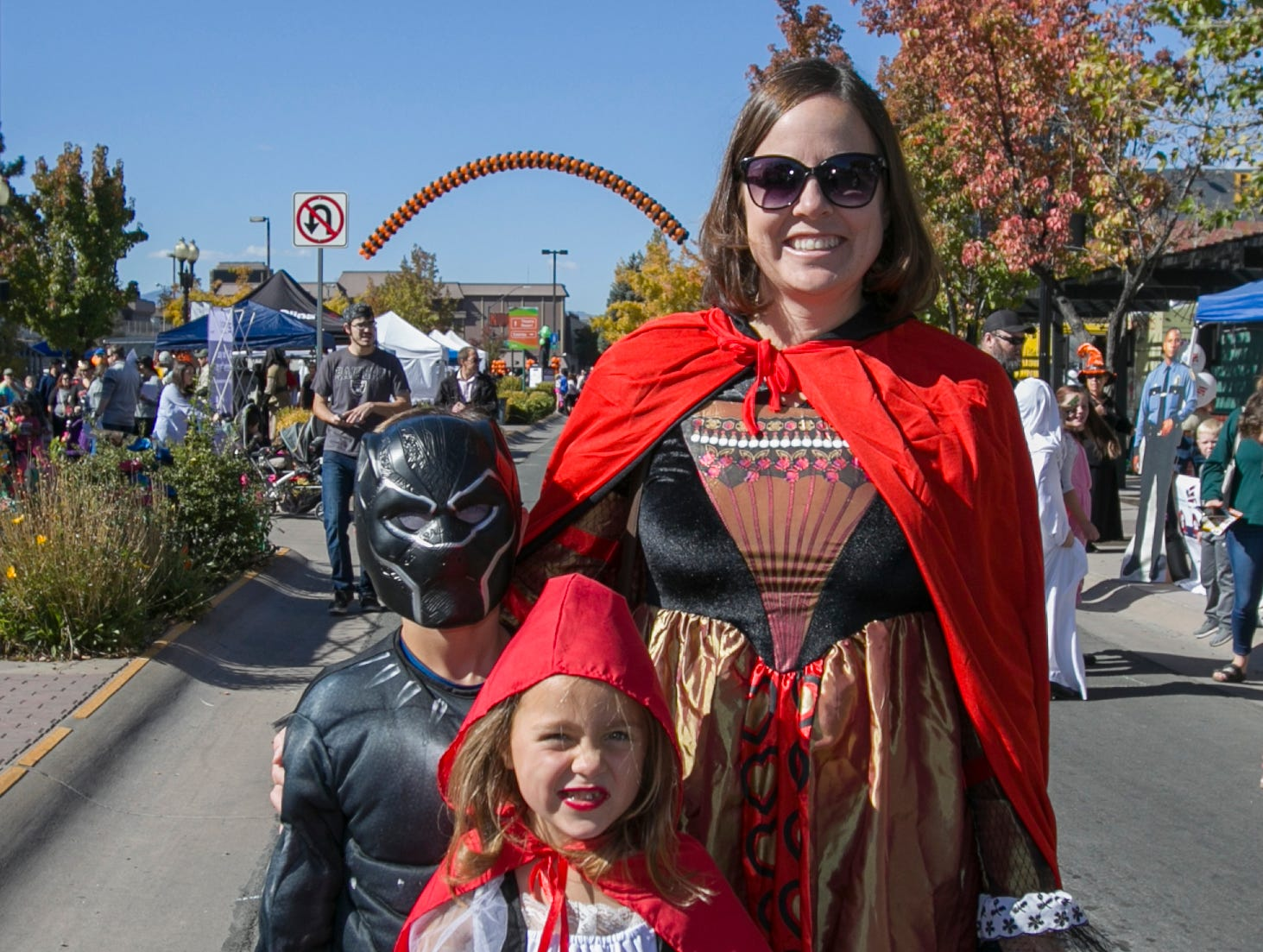 The Clore family during Pumpkin Palooza on Sunday Oct. 21, 2018 in Sparks, Nevada.