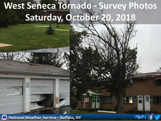 West Seneca tornado damage
