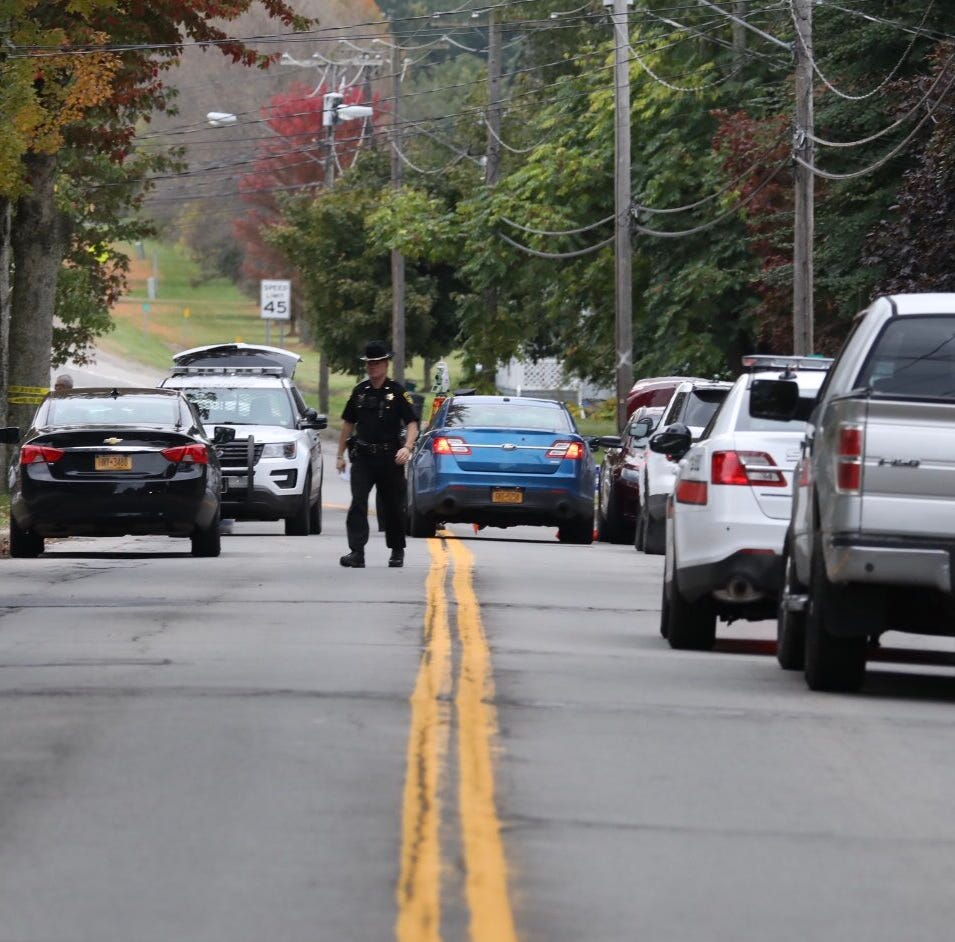Sodus shooting:  Two killed, shooter at large
