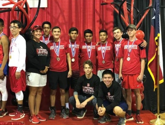 The Miles High School boys cross country team finished second at the Region I-2A meet Oct. 22, 2018, in Lubbock and will advance to the state meet.