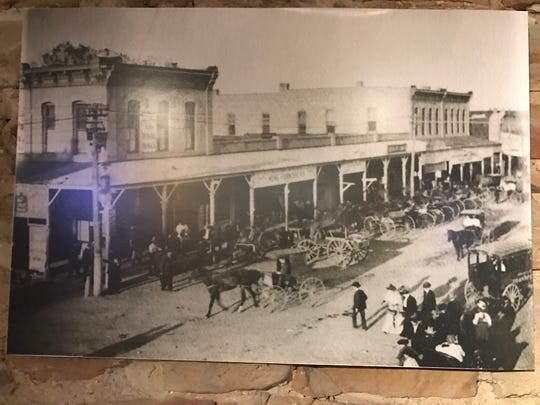 This view of Concho Ave dates back to the late 1800s and can be seen at The Casual Pint.