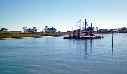 Smith Island Dredge 2