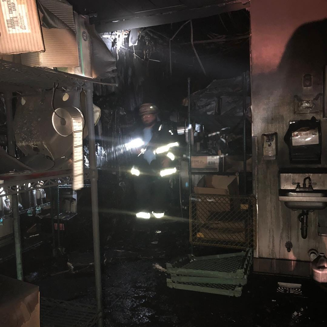 Fire causes significant damage to Sonic in Fruitland