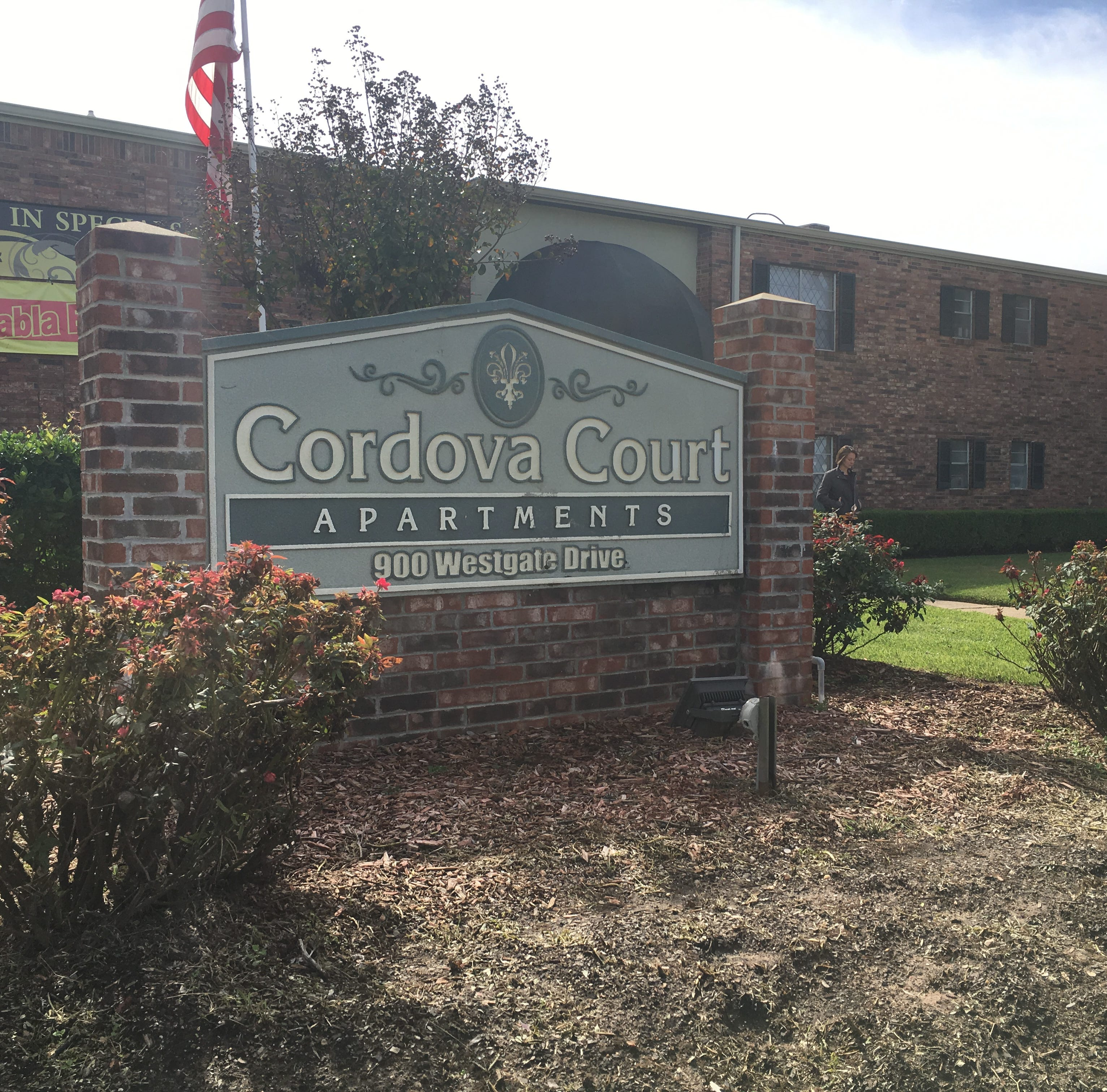 A body was found at the Cordova Court Apartments in Bossier City on Monday.