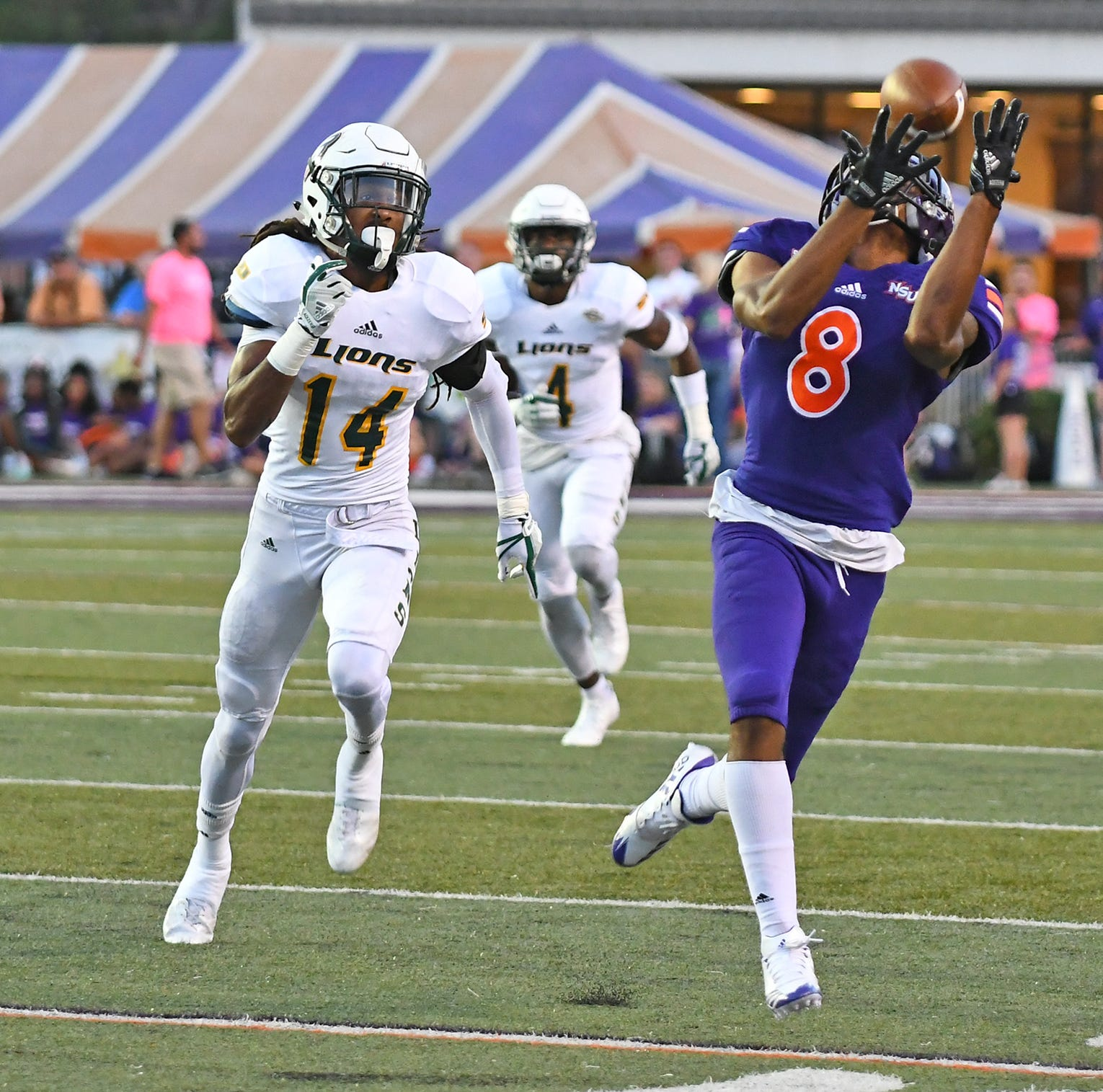 Northwestern State's Jaylen Watson defies 'Mute' nickname on the field