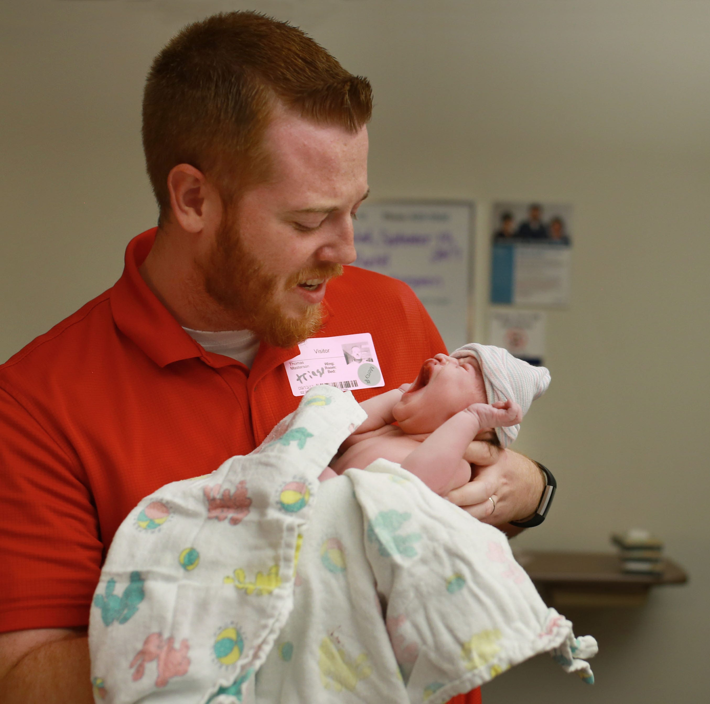 'I love him the way he is' — Springfield family shares joy of having baby born with no skull