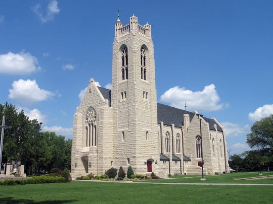 Williams Memorial Chapel on the College of the Ozarks campus