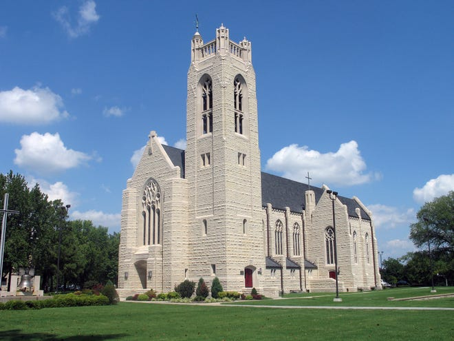 Williams Memorial Chapel at College of the Ozarks in Point Lookout, Missouri.
