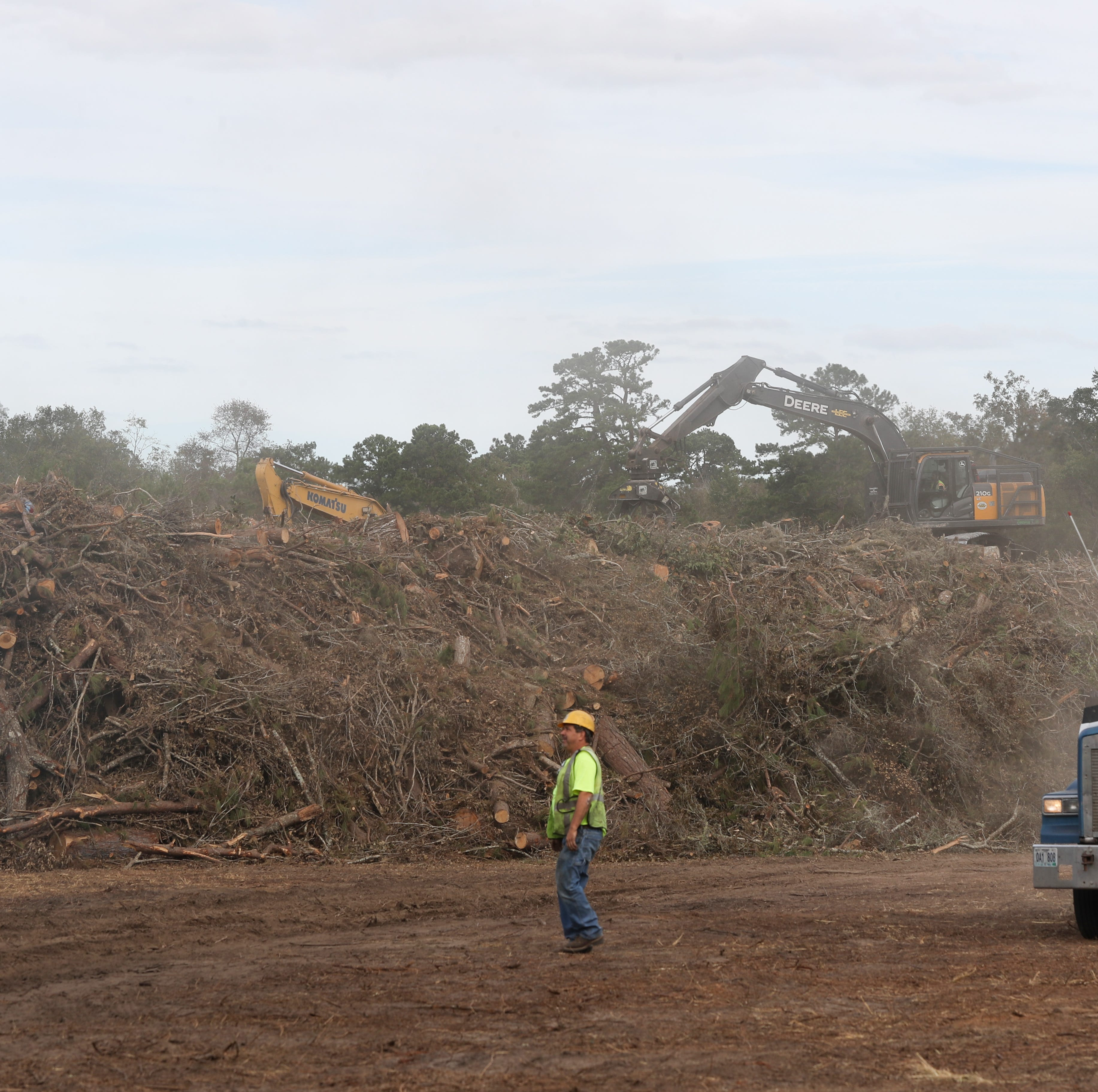 Leon County's Hurricane Michael debris clean-up efforts may last past Thanksgiving