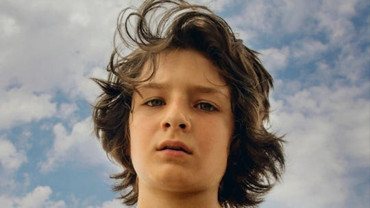 "Sunny Suljic plays a confused young kid who turns to skateboard culture in ""Mid90s,'' opening Friday."