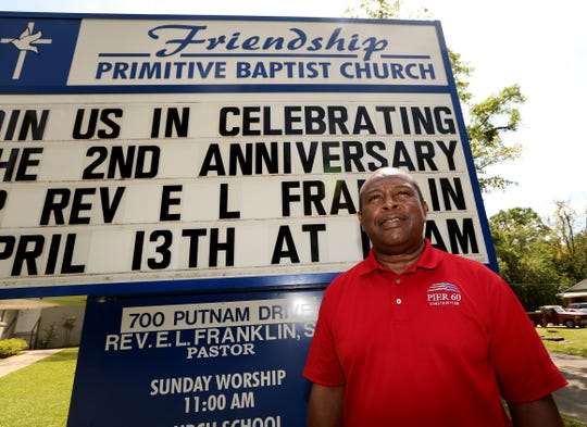 Eddie Franklin is the pastor of Friendship Primitive Baptist Church on Putnam Drive in South City, where changes have started.