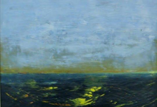 Encaustic, by Sherry Horton.