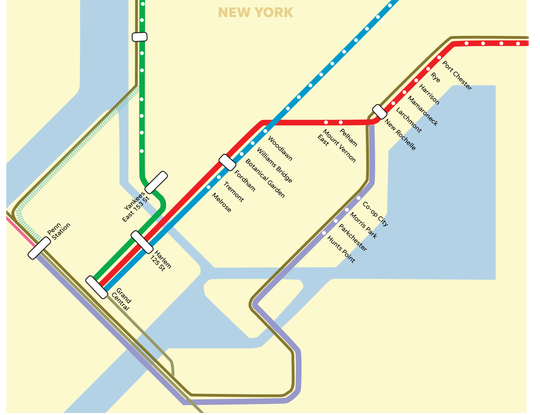 Proposed Hell Gate Line