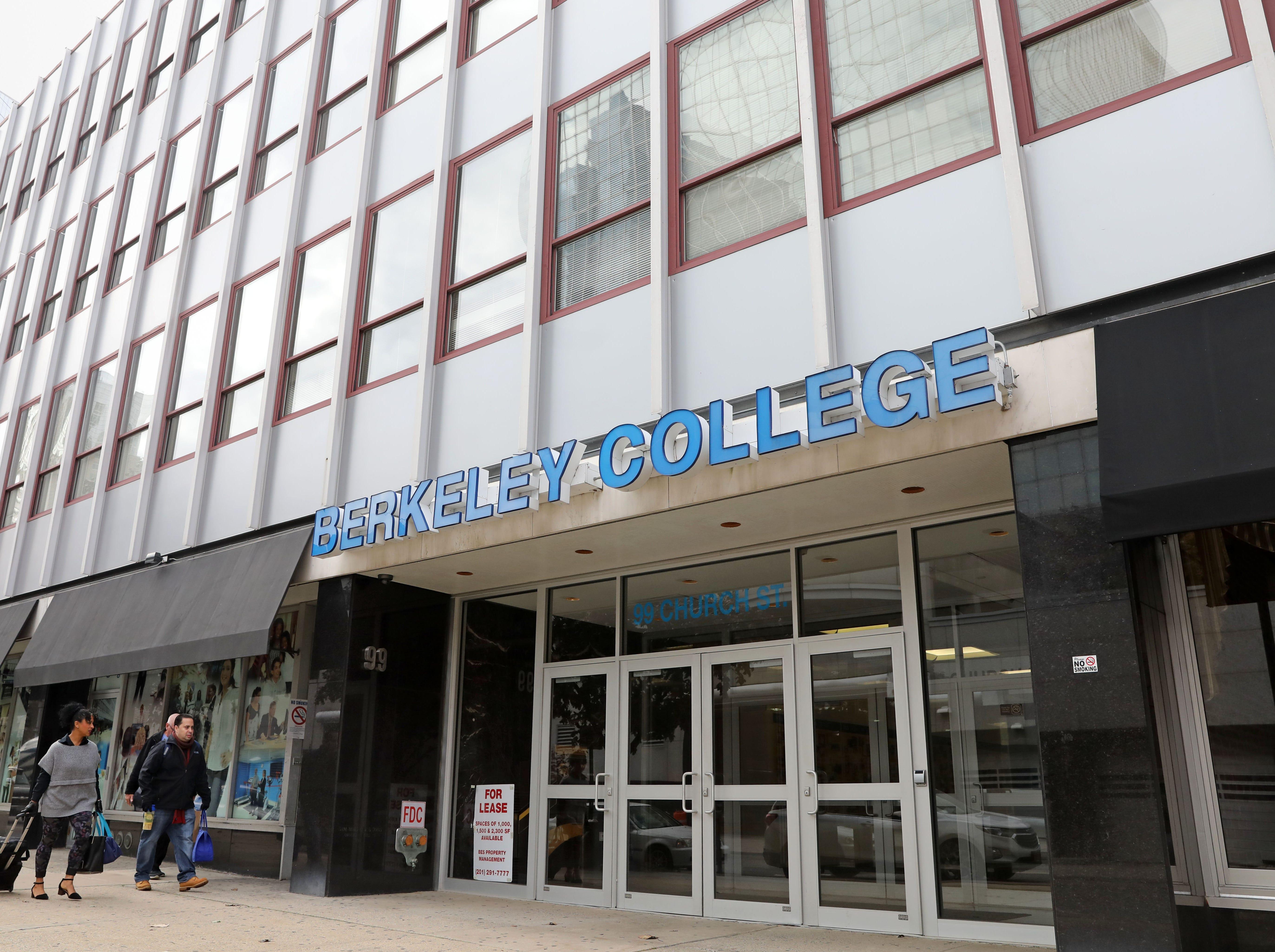 Ex-staffers sue Berkeley College, citing hostile work environment
