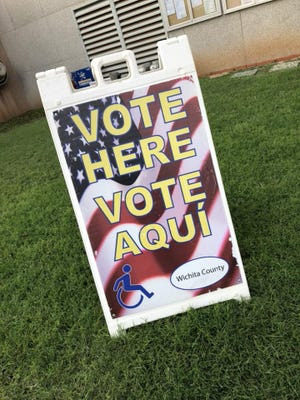 Election Day is Tuesday, Nov. 5. Voters can go to any polling location to cast a ballot.