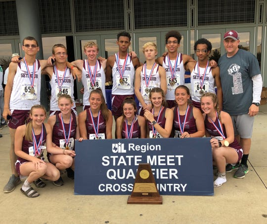 The Seymour boys and girls cross-country teams are headed to state again.