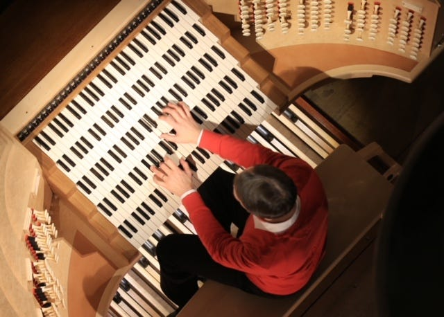 Notre-Dame organist Olivier Latry will perform at 7 p.m. tonight at the First United Methodist Church at  Elizabeth Prothro Organ Concert Series. The event is free, and everyone is welcome to attend.
