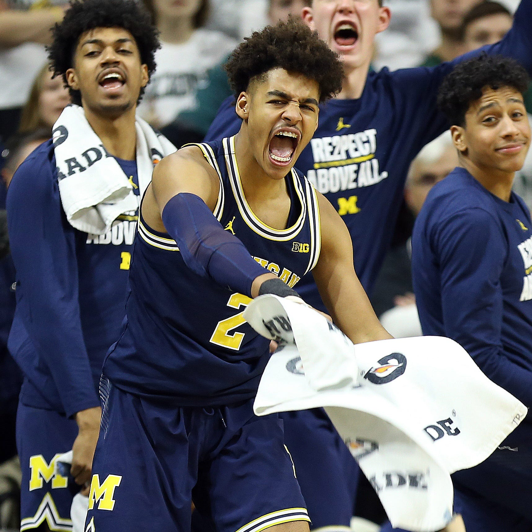 Michigan basketball's Jordan Poole rips Michigan State campus: 'It's trash'