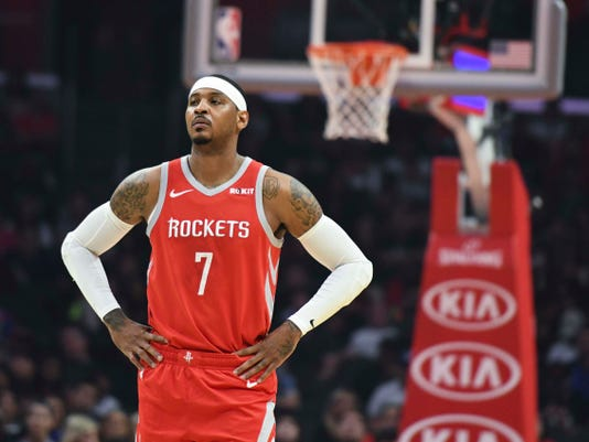 Nba Houston Rockets At Los Angeles Clippers