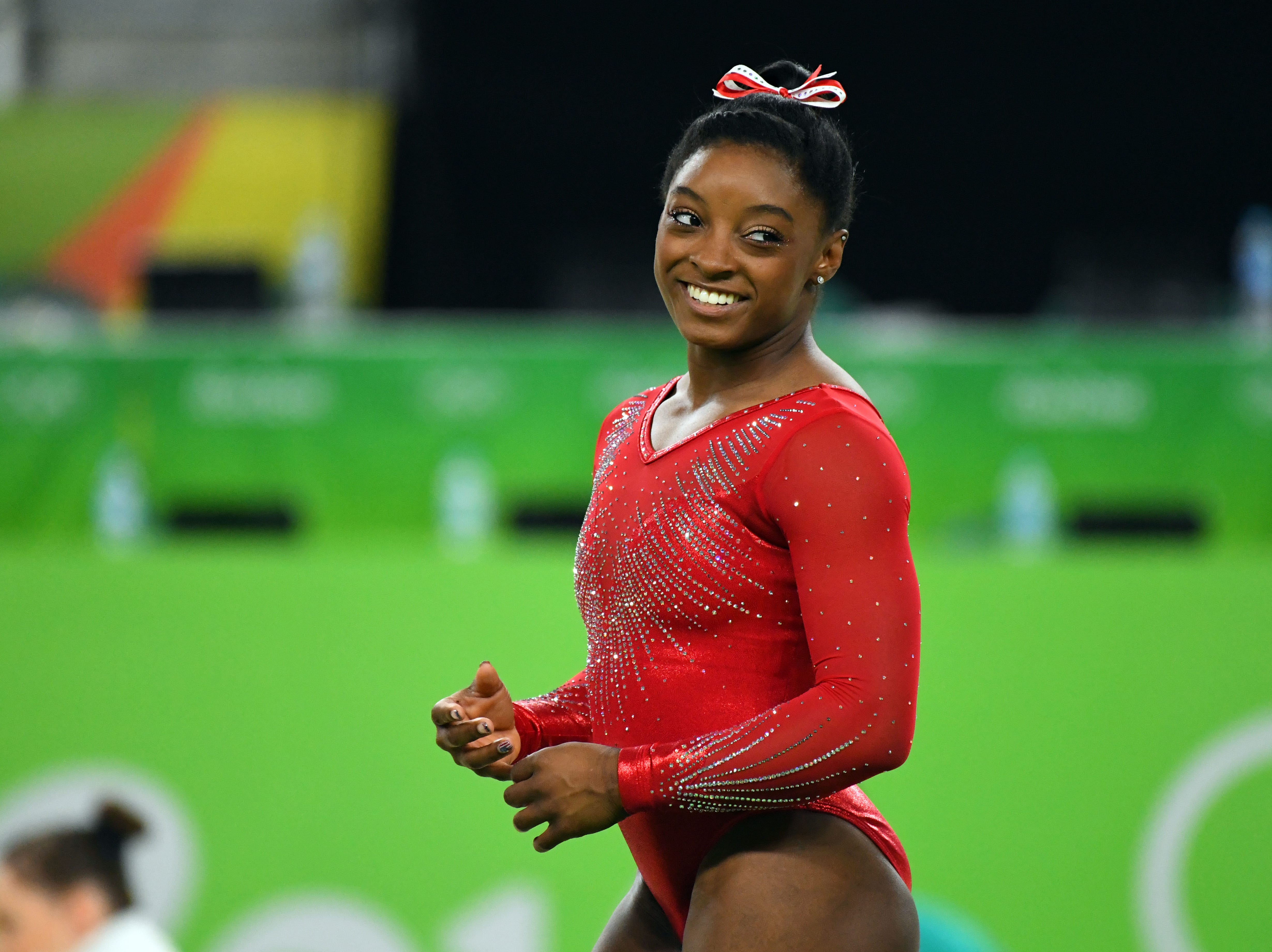 At the 2016 Olympics, Simone Biles won four gold medals and a bronze.