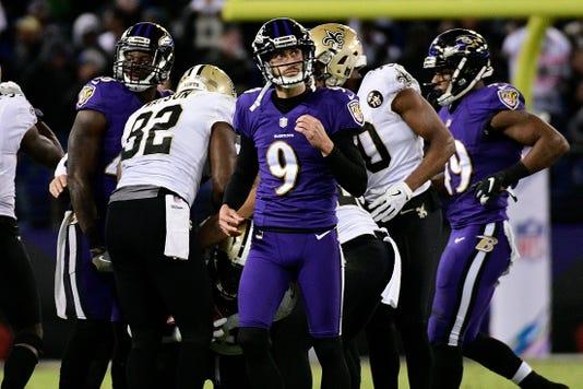 Nfl New Orleans Saints At Baltimore Ravens