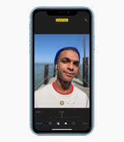 You can adjust the depth of field in a Portrait Mode show on the iPhone.