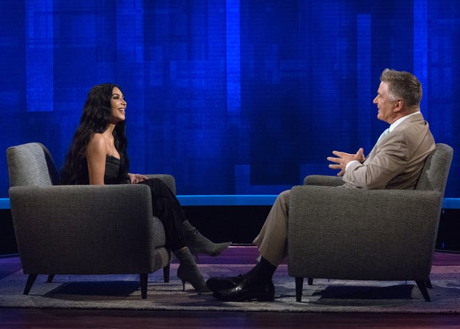 Kim Kardashian West joins Alec Baldwin for his talk show.