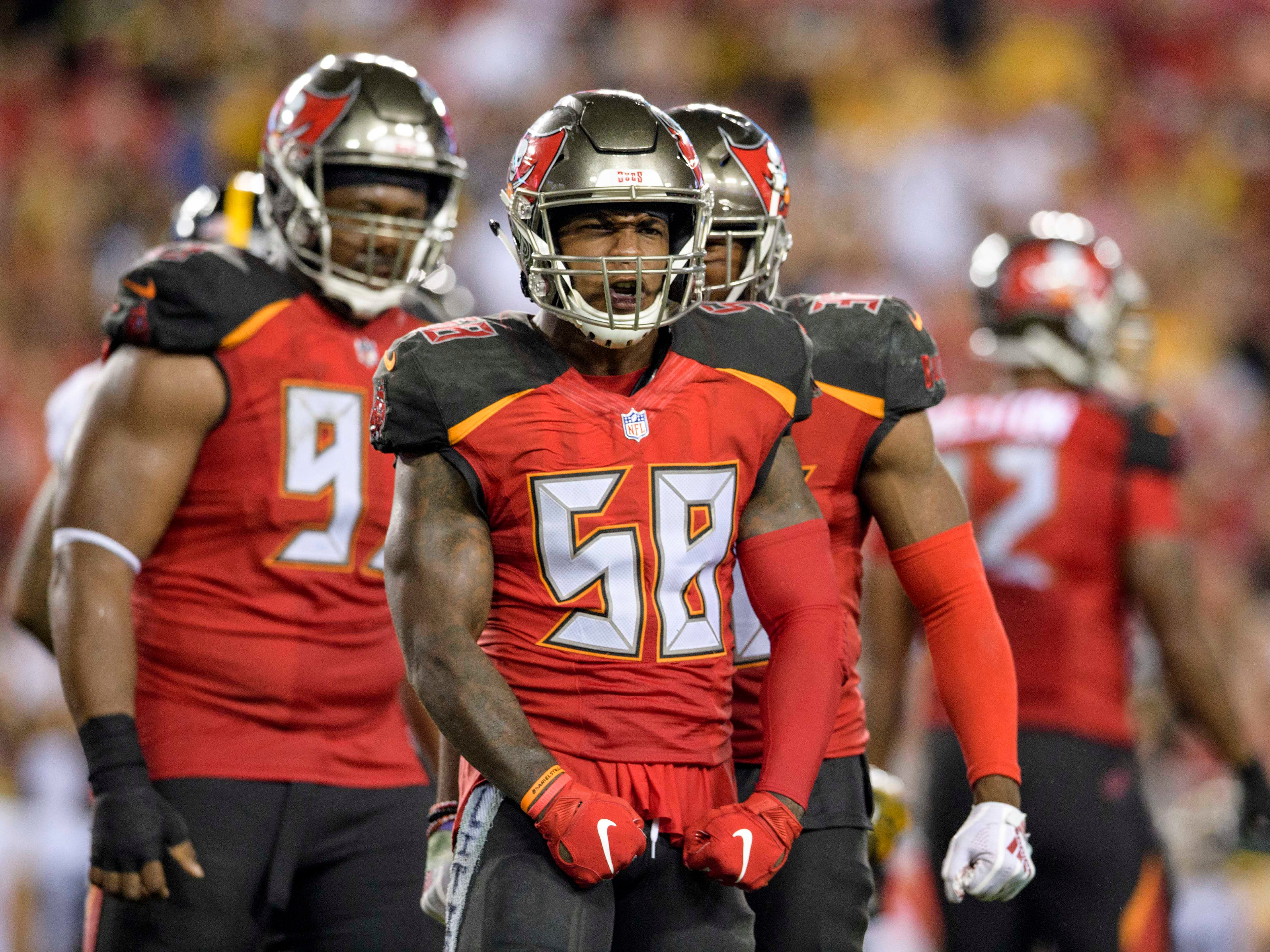 Kwon Alexander, LB, Tampa Bay Buccaneers (torn ACL, out for season)
