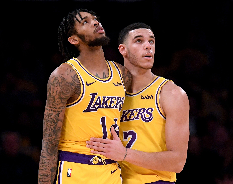 Brandon Ingram shoulders blame for Lakers-Rockets melee