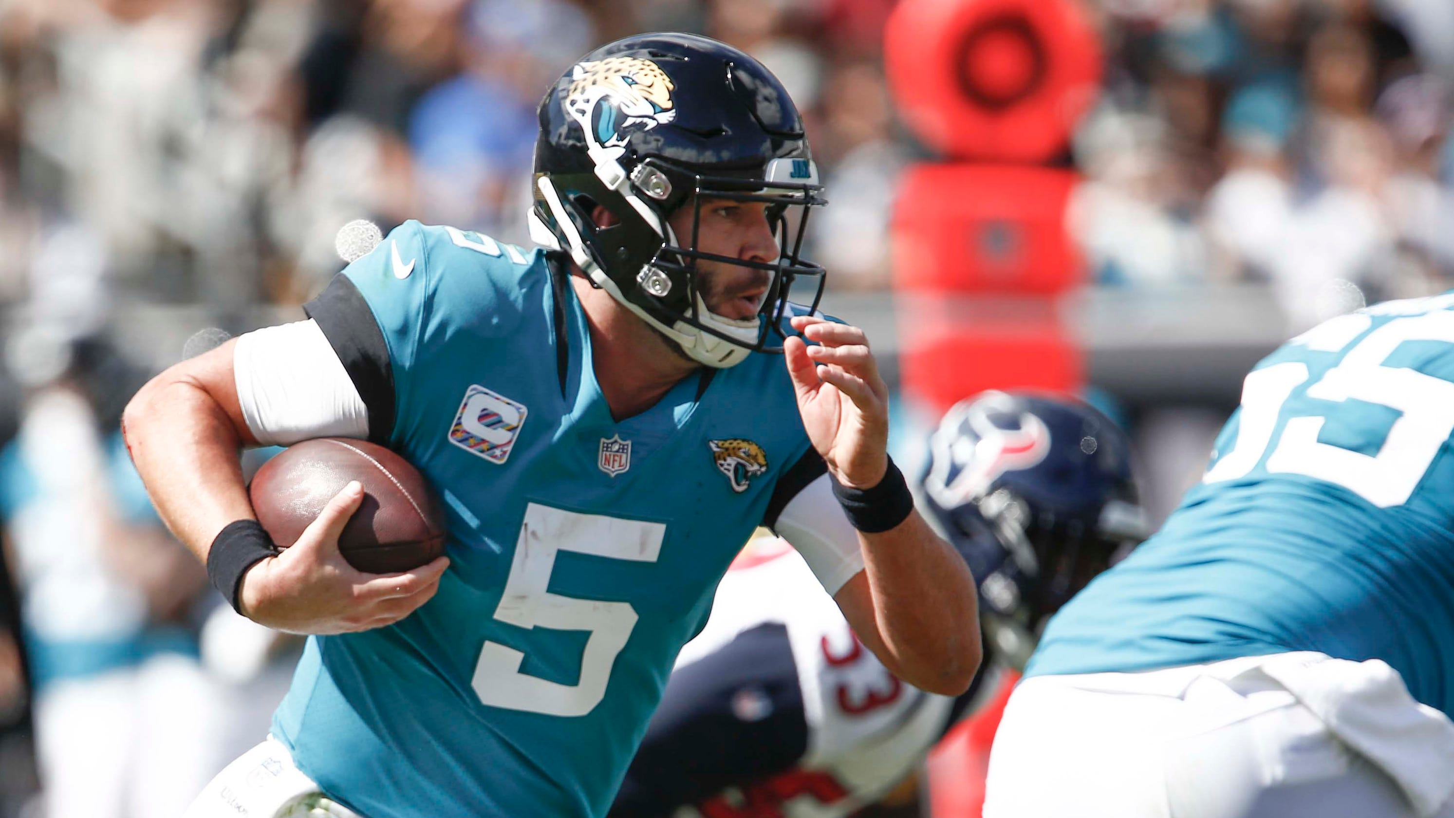 1aaa289e3 Self-destructing Jaguars have no one to blame but themselves for believing  in Blake Bortles