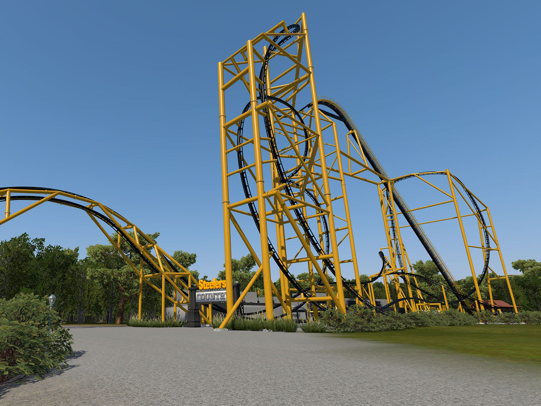 Steel Curtain will open at Kennywood in 2019.