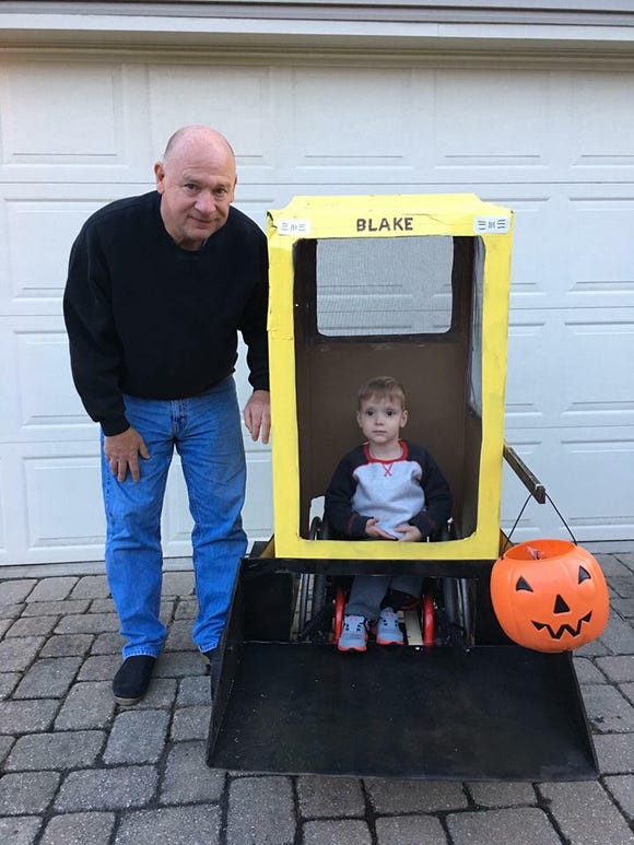 Gary Mompher and his grandson Blake Mompher