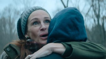 Julia Roberts plays a mother desperately trying to keep her son sober and safe in 'Ben is Back.'