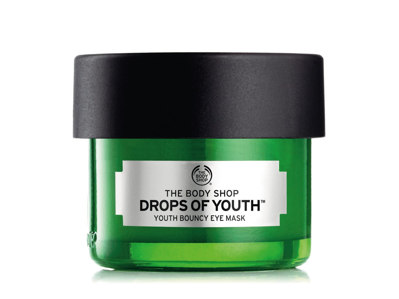 Body Shop Youth Bouncy Eye Mask can be used a night mask or applied as a thin layer under daily makeup. It left our tester with noticeably deflated under eye bags.