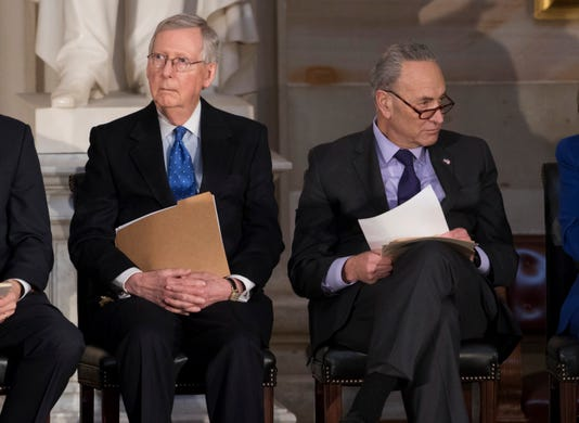 Schumer: Republican leader Mitch McConnell just made the case for a Democratic Senate