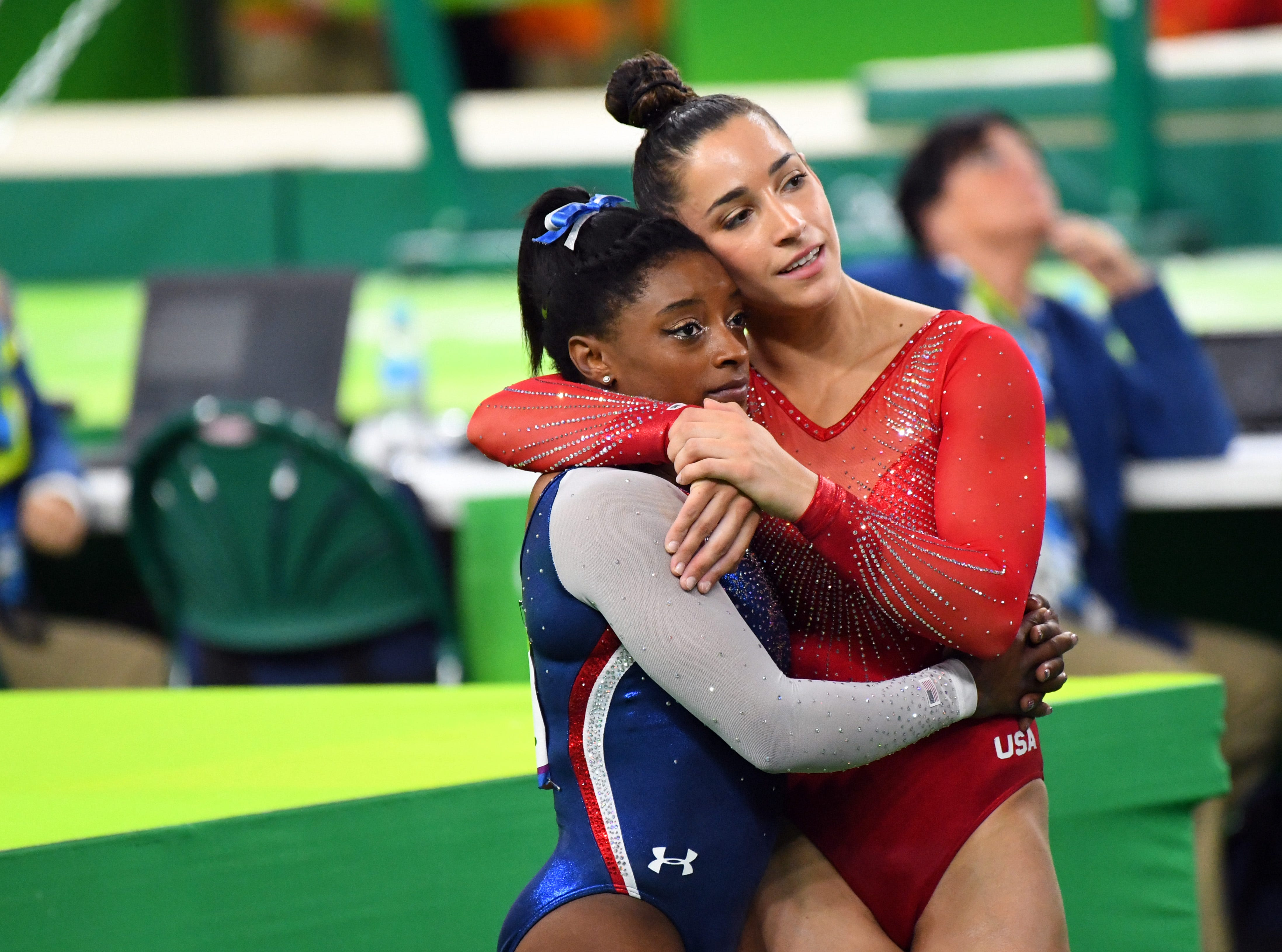 In 2016, Simone Biles won Olympic gold in all-around and Aly Raisman took the silver.