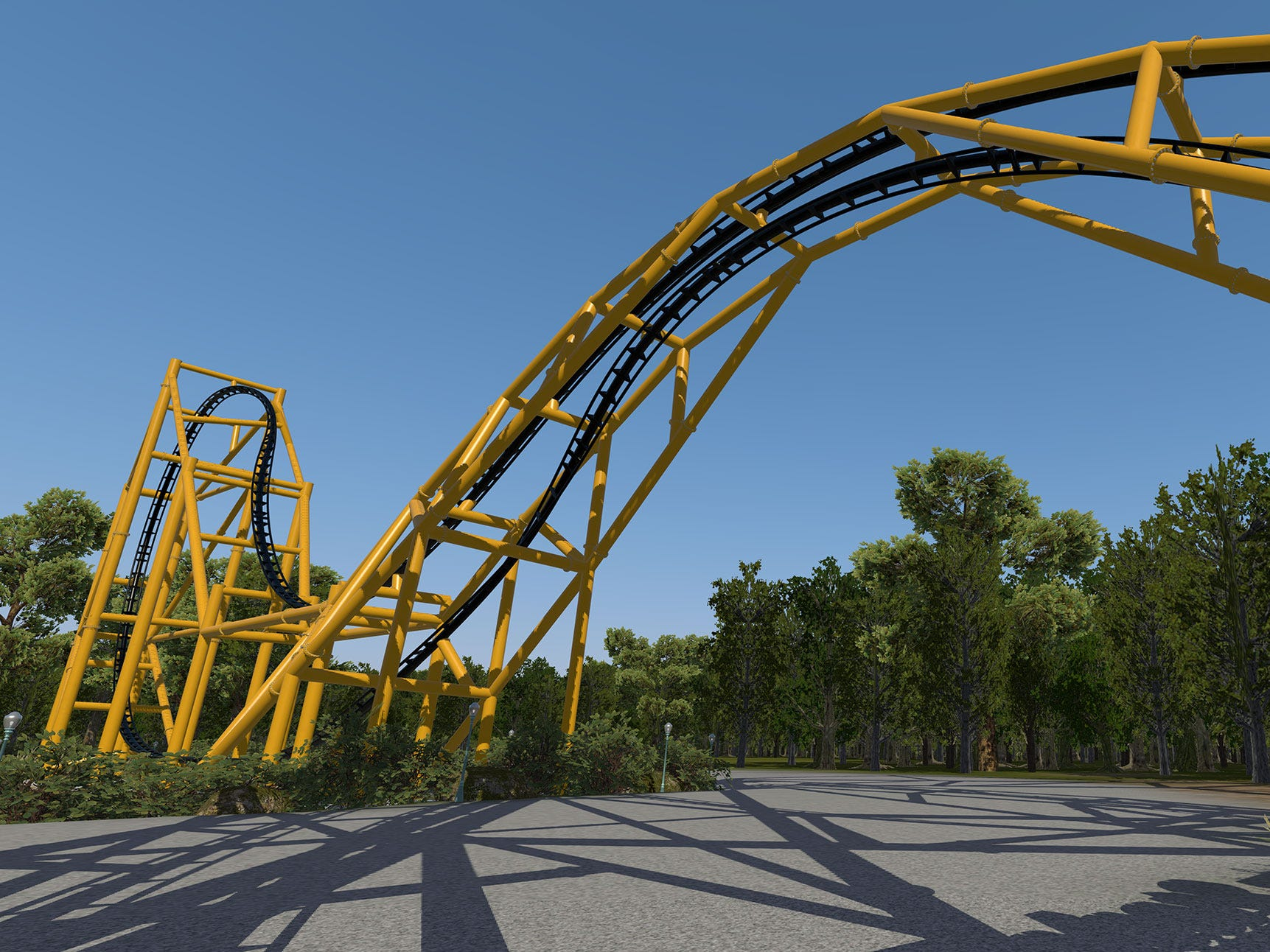 Steel Curtain's most notable features (other than its tie-in with the Men of Steel) will be its inversions.