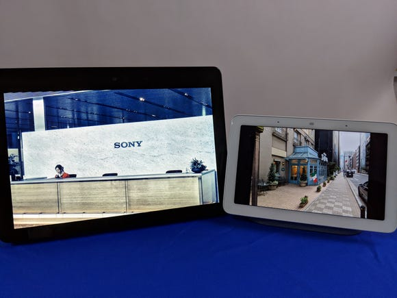 Amazon's 10-inch Echo Show vs. the 7-inch Google Home Hub