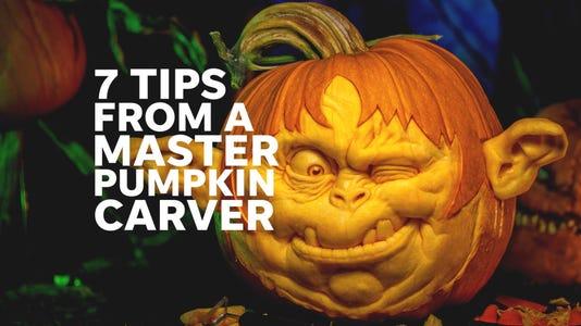 pumpkin carving tips from a master pumpkin carver