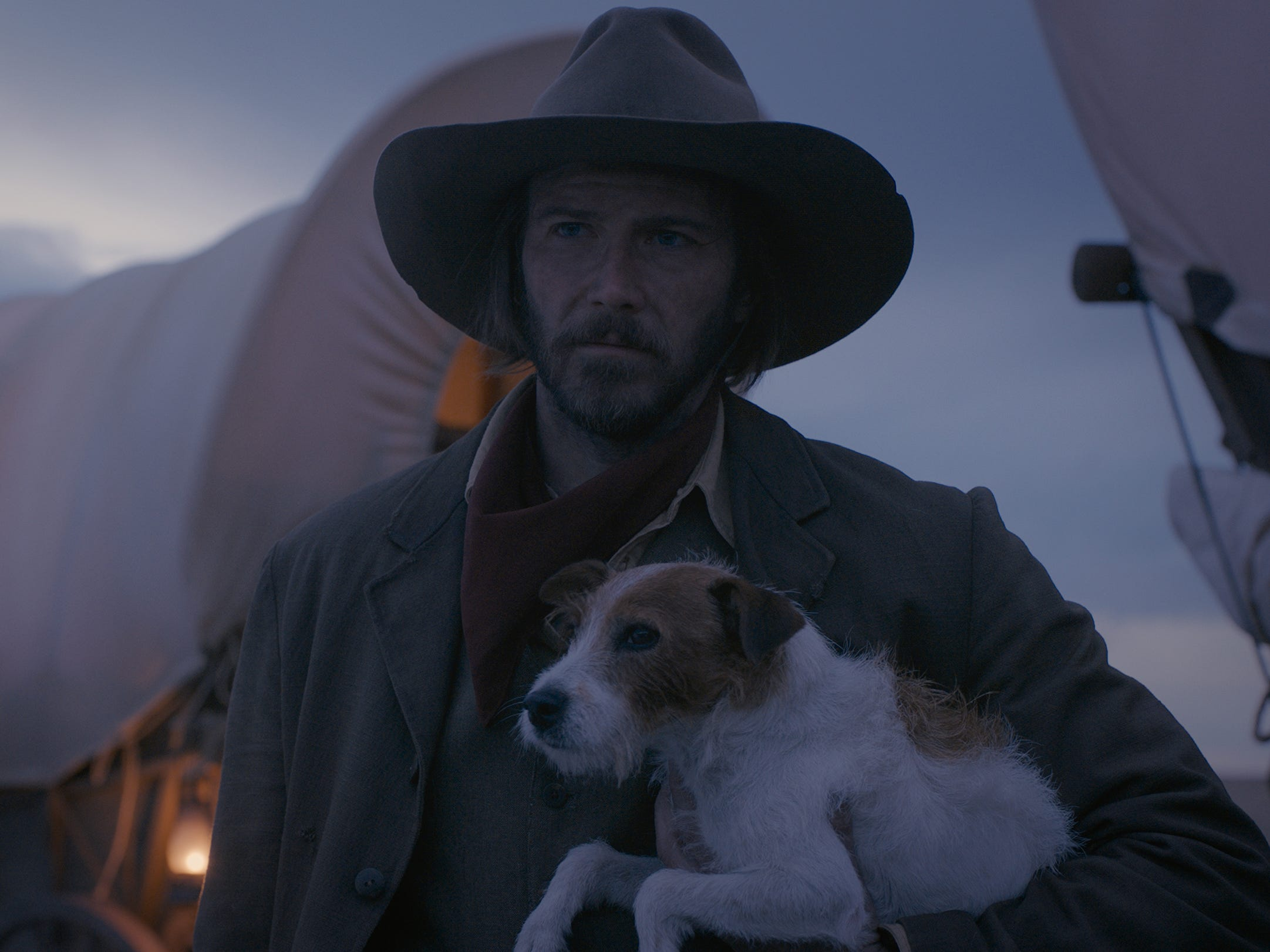 "Bill Heck stars in a story set on a wagon train in Joel and Ethan Coen's Western anthology film ""The Ballad of Buster Scruggs."""