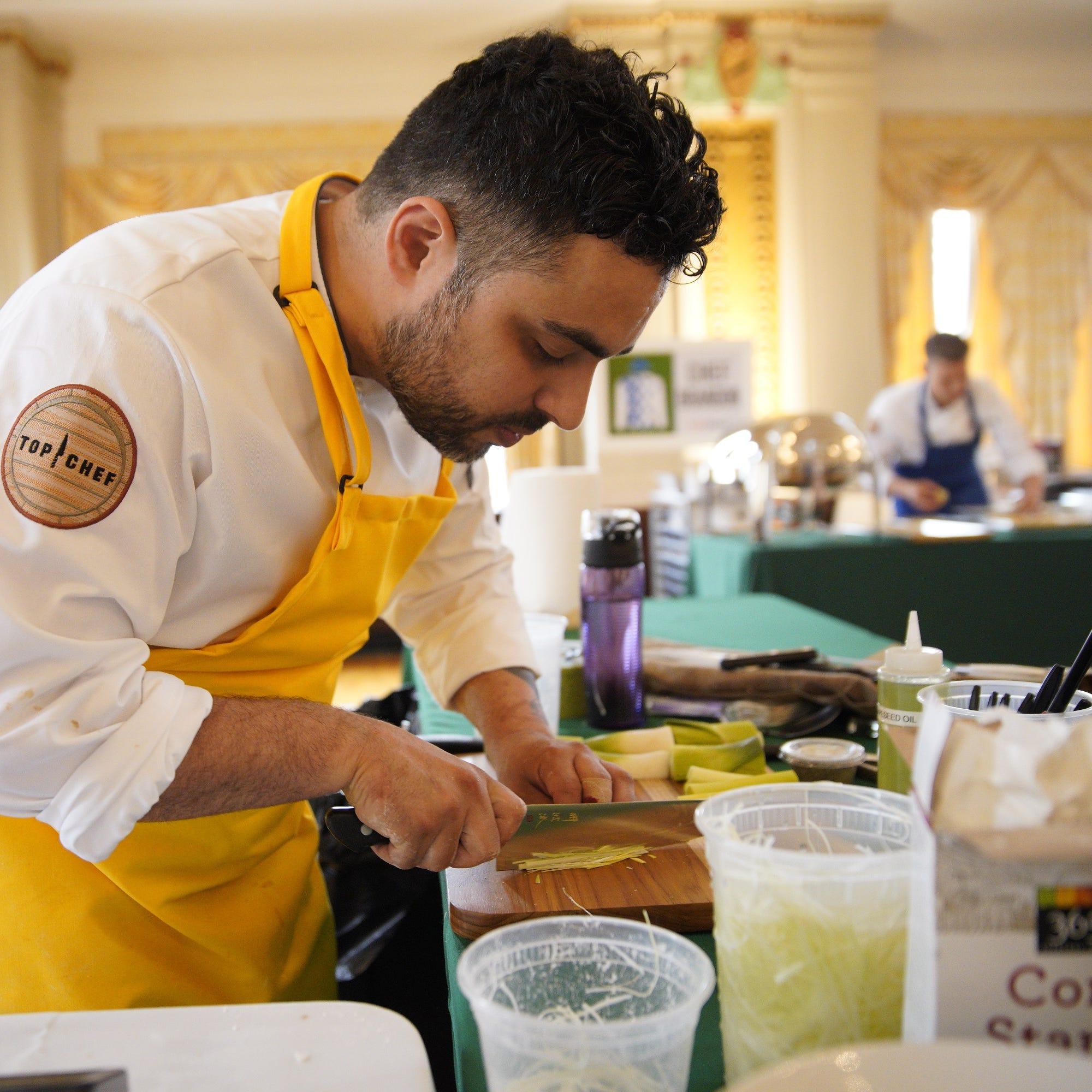 'Top Chef,' featuring Shore chef David Viana, premieres tonight