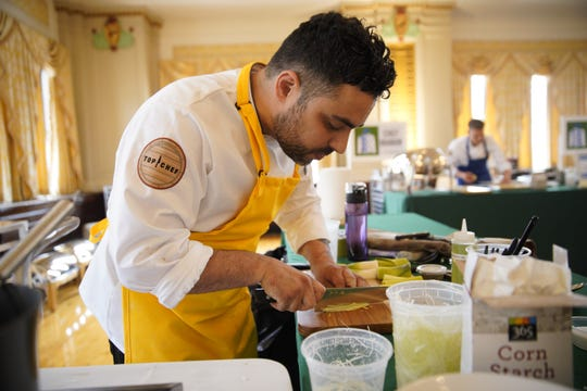 """Chef David Viana is a contestant on the upcoming season of Bravo's """"Top Chef."""""""